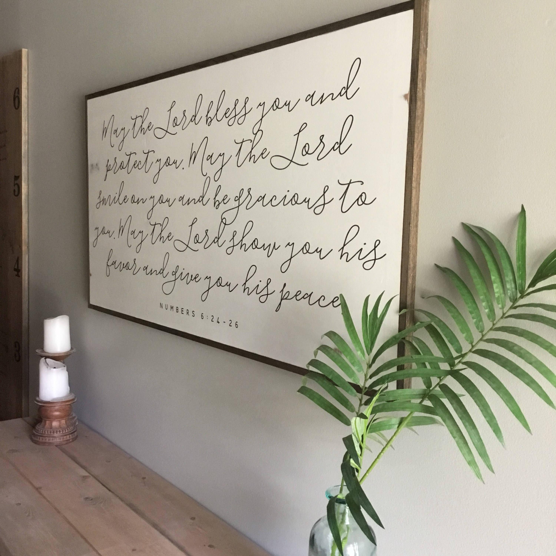 Blessings Home Decor: THRESHOLD BLESSING 2X4 Sign