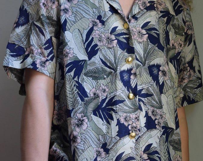 pastel jungle blouse.