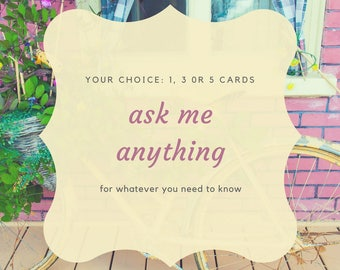 Ask Me Anything! // Tarot Reading, Psychic Reading, Clairvoyant