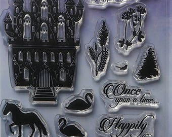 Hunkydory - For the Love of Stamps - Once Upon a Time - Clear A6 Stamp Set
