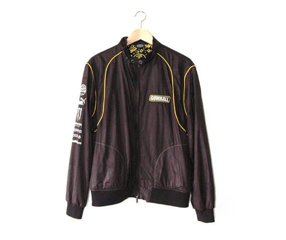 car jacket, gumball rally