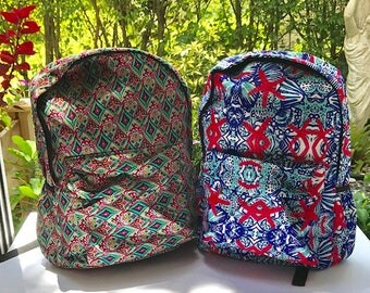 NEW LILLY -Bookbags-Backpacks-School supplies-Lunchbox