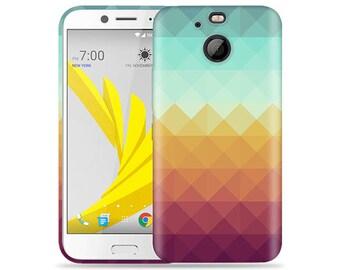 Htc Bolt #Pixel Waves Design Hard Phone Case