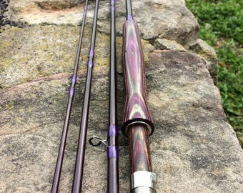 Bamboo fly rod etsy for Custom fishing rods for sale