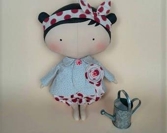 Gift idea Tilda doll Gift for daughter Rag doll Handmade dolls Girl toy Girlfriend gift kids Fabric dolls Cloth doll Custom doll Toys