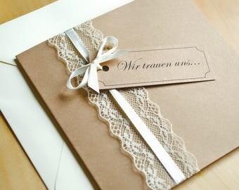 Invitation Cards Square-vintage-for wedding