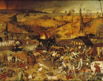 Poster, Many Sizes Available; Triumph Of Death Pieter Bruegel The Elder 1562