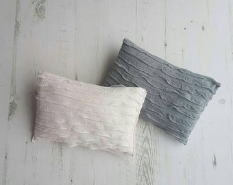 Photography posing pillow prop - frilly