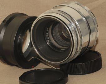 Helios-44 58mm f./ 2 Helios 44 M39/M42 MMZ Helios 44-2 Lens + Sony E NEX (for E-mount cameras)