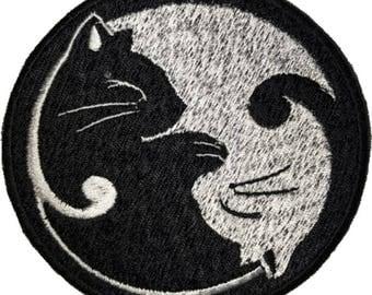 Cat Yin-Yang Patch