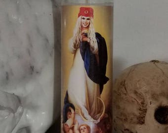 St Katya drag queen drag race Prayer Candle