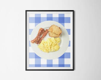 Parks and Rec // Ron Swanson's Breakfast Poster