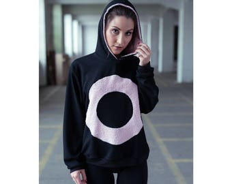 DONUT-TOP - handmade sweatshirt jumper -