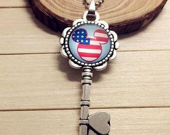 Mickey necklace usa