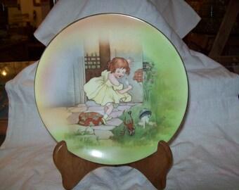 Royal Bayreuth Little Miss Muffet Plate