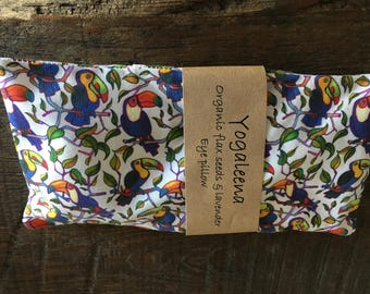 lavender eye pillow -tucan