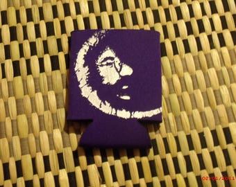 Grateful Dead Coozie. Jerry Garcia Coozie. Jerry in the Moon Coozie. Green,Light Blue, Purple, Blue