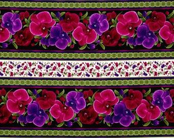 Wild Orchid Striped / custom fabric