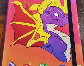 Spyro the Dragon Notebook
