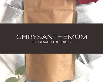 Chrysanthemum Herbal Tea Bags