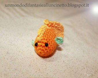 Crocheted fish - amigurumi