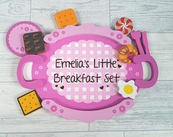 Personalised Breakfast Children's Toy Set - 00006