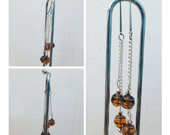 "Earrings dangling ""contemporary"" - one size"