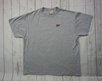 timeless design 33a9b abbcb ... Vintage 90s Nike T-Shirt, Nike Script T-Shirt, Mens XL, ...
