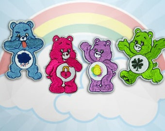 Care Bear Iron on Patch(M2) - Cartoon Characters Applique Embroidered Iron on Patch