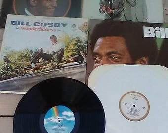 BILL COSBY Records Set of 5 Albums with 6 Records