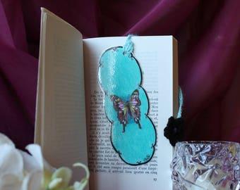 Original, hand drawn Butterfly bookmark