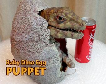 Puppet Baby Dinosaur & Egg Life Size