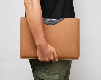 13 inch Macbook Pro Case Macbook Pro 13.3 Retina Sleeve Leather Macbook Sleeve Bag Tablet Sleeve Waterproof Laptop Sleeve iPad Pro 12.9 Case