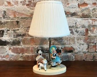 Mary Had A Little Lamb Lamp