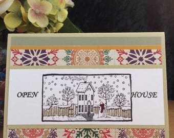 SALE!  3 Pk. Holiday Invitation