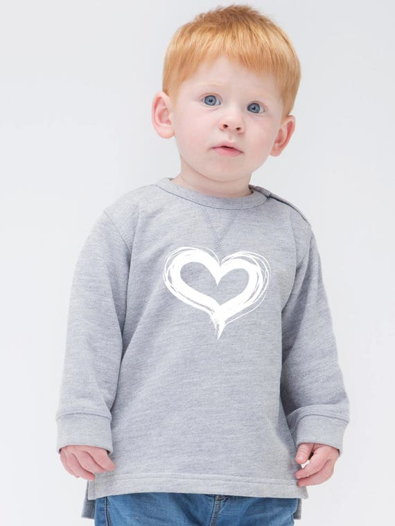 Boy Girl Baby sweater HEART