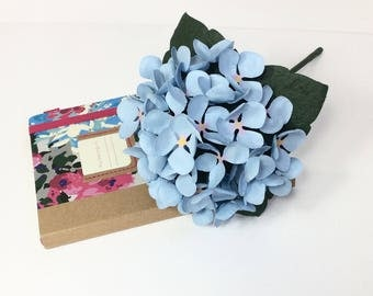 Hydrangea - Blue - other colour options available - Valentine's, Weddings, Birthday, Anniversary, Gift