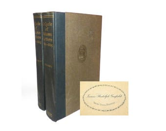 1920 A Cycle of Adams Letters, 1861-1865: Ed. By Worthington Chauncey Ford 1st Edition 1st Printing Civil War History J. R. Garfield Library