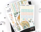 Beach House June Monthly B6 TN Planner Kit | ~100 Stickers | Planner Stickers | For Erin Condren LifePlanner