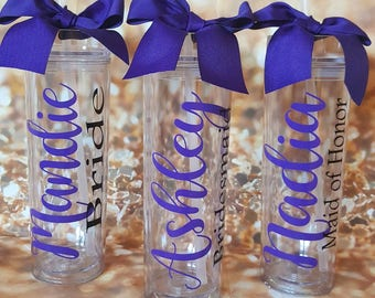 Personalized Tumbler, Personalized Wedding Gift, Personalized Gift, Wedding Tumblers, Bridesmaid Gift, Wedding Favor, Bridesmaid Tumbler