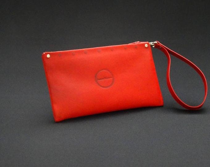 James Zip Purse - Red Tan - Handmade Kangaroo Leather - James Watson