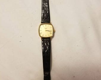 Longines 17 Jewels Wind-up Gold Plated Ladies Watch