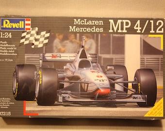 Revell McLaren Mercedes MP4/12 Plastic Model Kit (1:24 scale)