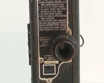 1930's Keystone Model K-8 Movie Camera