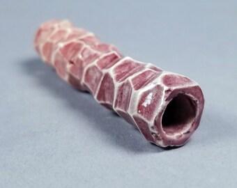 Ceramic Pipe Chillum Porcelain - FADER VI