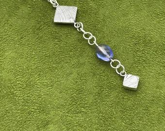 Silver Drop Squares
