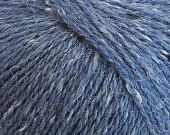 Rowan Felted Tweed 167 - 10.25 +1.25ea to Ship - Maritime #167 Blue + FREE Patterns Shown. Gorgeous! MSRP 12.95.
