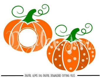 Pumpkin Halloween svg / dxf / eps / png files. The files work well with Silhouette and Cricut. Digital Download. Commercial use ok.