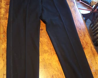 Vintage Ladies Tux Trousers
