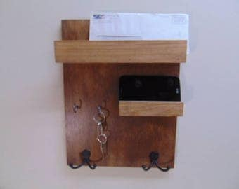 Key Mail Storage U2013 Mail Storage U2013 Shelf Coat Hooks U2013 Floating Shelf